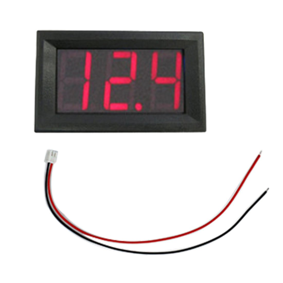 1,4 cm LCD LED Panel Meter Digital Voltmeter mit-Draht -, rot ...
