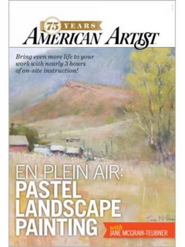 En Plein Air Pastel Landscape Painting