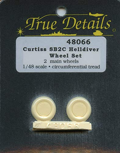 True Details 1:48 Curtiss SB2C Helldiver Wheel Set for sale  Delivered anywhere in USA