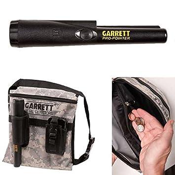 Garrett PRO-POINTER y camuflaje lienzo Metal Detecting encuentra recuperación bolso de la bolsa: Amazon.es: Jardín