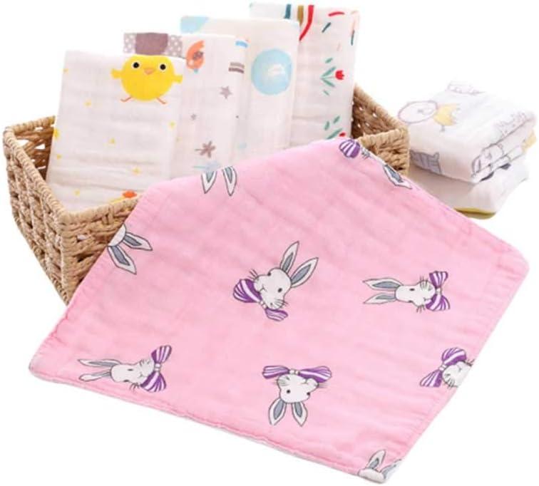 ToPBATHY - Juego de 5 toallas de algodón para bebé recién nacido ...