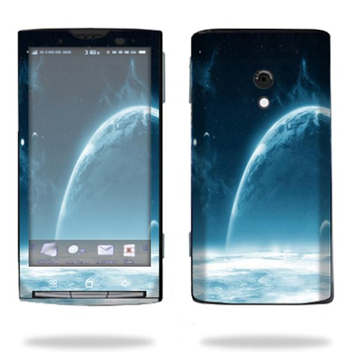 Price comparison product image MightySkins Protective Vinyl Skin Decal Cover for Sony Ericsson Xperia X10 Cell Phone wrap sticker skins Outer Space