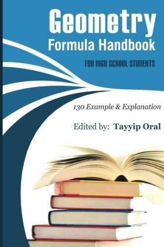 Geometry Formula Handbook: 130 Examples & Explanation