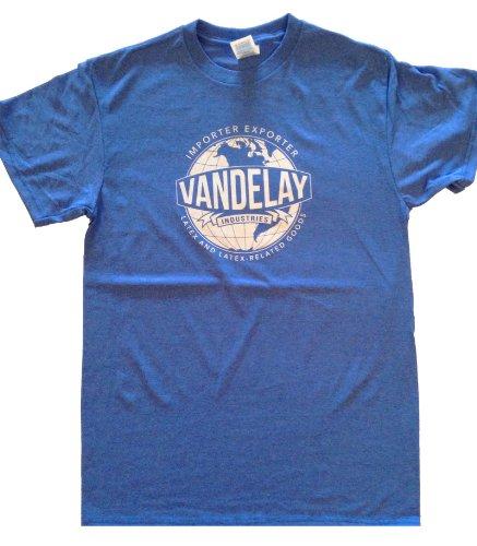 Vandelay Industries T-Shirt-Funny shirt from Seinfeld-BLUE