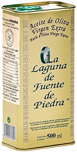 La Laguna de Fuente de Piedra | Extra Virgin Olive Oil | New Harvest 2018/19 | 16.9 fl oz | Single Origin | Small Batch | First Cold Press | Unblended | Family Estate | 100% VIDUENA Olive | Spanish ()