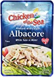 Chicken of the Sea Premium Albacore Tuna in Water, 2.5-Ounce Pouches (Pack of 12)