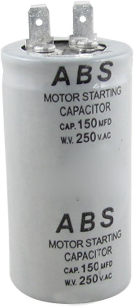 Dasing ABS Serie 150MFD 150UF 250V AC Condensador de Arranque del Motor