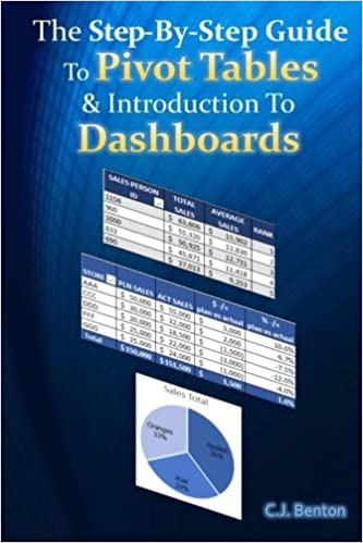 Download The Step-By-Step Guide To Pivot Tables & Introduction To Dashboards (The Microsoft Excel Step-By-Step Training Guide Series) (Volume 2) PDF, azw (Kindle), ePub