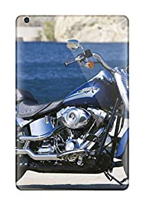9864642J38709481 Excellent Ipad Mini 2 Case Tpu Cover Back Skin Protector Harley-davidson Fat Boy