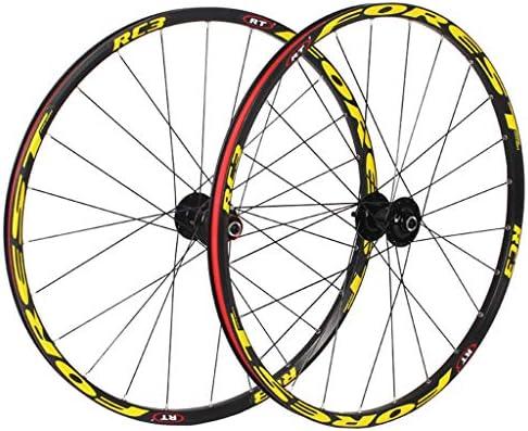 LHHL Ruedas Bicicleta Montaña 26/27.5 Pulgadas Juego Ruedas ...