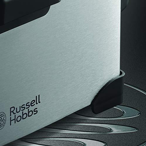 Russell Hobbs Cook Home Freidora profesional, 1800 W, 3.2 L para aceite, 1.2 kg de comida, hasta 190 C, cuerpo inox cepillado 3.2 litros: Amazon.es: Hogar