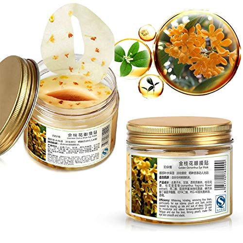 Eye Mask Eye Patches for Dark Circles Puffy Eyes with Golden Osmanthus Anti-aging