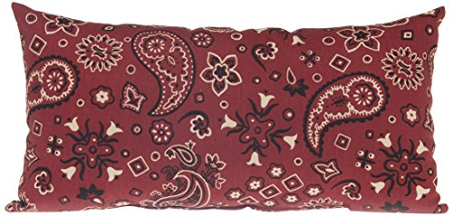 Sweet Potato Happy Trails Rectangle Pillow, Bandana