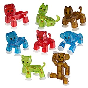 Zing Stikbot Pet Action Figure - 51a8YjkyDmL - Zing Stikbot Pet Action Figure