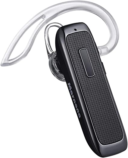 Amazon Com Bluetooth Headset Marnana Wireless Bluetooth Earpiece With 18 Hours Playtime And Noise Cancelling Mic Ultralight Earphone Hands Free For Iphone Ipad Tablet Samsung Android Cell Phone Call Upgraded Home Audio Theater