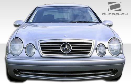 Duraflex Replacement For 1998 2002 Mercedes Clk W208 Amg Look Front Bumper Cover 1 Piece