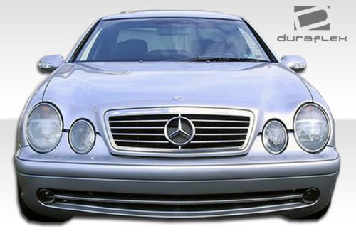 Duraflex AMG Look Front Bumper Cover – 1 Piece Body Kit – Fits Mercedes CLK – 1998 1999 2000 2001 2002 | 98 99 00 01 02 (ED-MJJ-097)