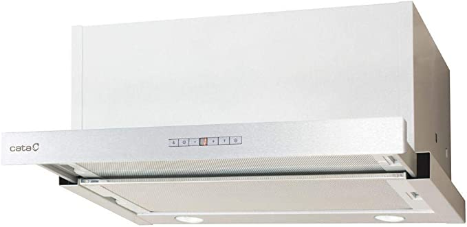 CATA Modelo TF 7600 X | 5 velocidades de extracción | Campana extractora Cocina 820m3/h-200m3/h | Acabado en INOX | [ Clase de eficiencia energética: 251.61: Amazon.es: Grandes electrodomésticos
