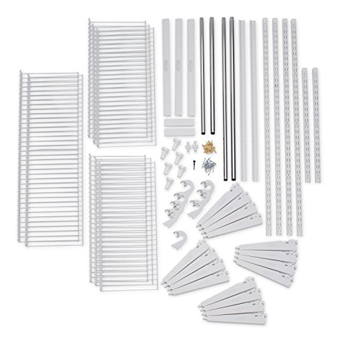 Rubbermaid Configurations Closet Kits, 3-6 Ft., Deluxe, White