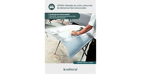 Amazon.com: Métodos de unión y desunión de elementos fijos estructurales. TMVL0309 (Spanish Edition) eBook: Mariano Sánchez Gutiérrez: Kindle Store