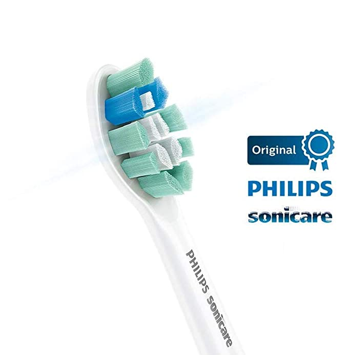 Philips HX9022/10 - Pack con 2 cabezales para control de la placa para cepillos Sonicare: Amazon.es: Salud y cuidado personal