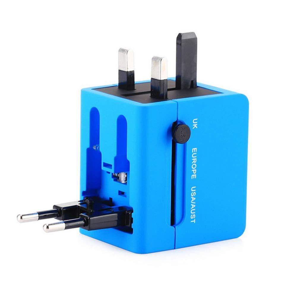 MUZI Travel Conversion Socket Universal Universal Plug Multi-function Converter Dual USB Power Socket