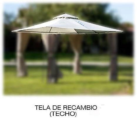 PAPILLON 8043319 8043319-Tela Recambio para pergola Estoril, Beige, 50x33x8 cm