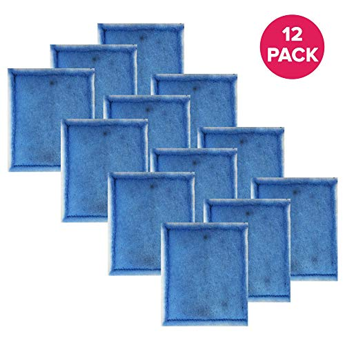 Think Crucial Aquarium Filter Replacement Parts - Compatible with Aqua-Tech EZ-Change 3 Aquarium Filter Replacement - Fits Aqua-Tech 20-40 and 30-60 Power Filters - (12 Pack)