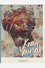 """Know Yourself: Large Notebook with Inspirational Quotes. Sketchbook&Journal for Drawing and Writing (8.5"""" x 11"""") Vintage Design (Ancient Greece Journals) Paperback"""