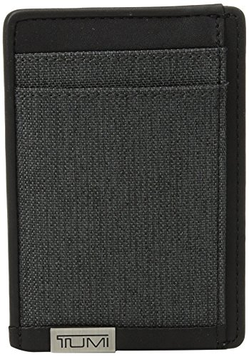 Tumi Men's Alpha Money Clip Card Case with RFID (Tumi Money Clip Wallet)