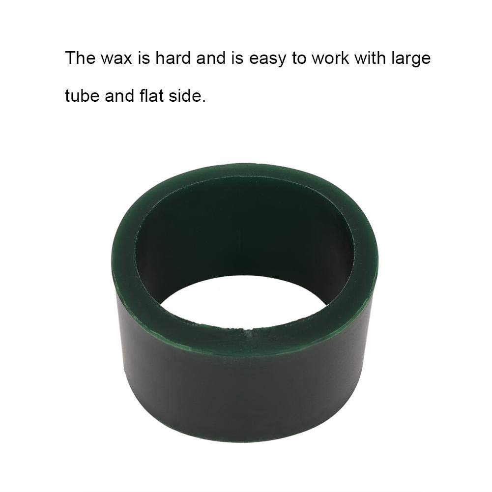 Jewelry Bracelet Wax Casting Tube Hole Bracelets Circle Mold Ring Tube Mold Jewelry Making Engraving Tool Accessory S Round Green Carving Wax