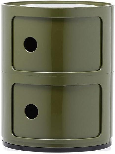/Ø 32 cm Componibili Fix-Container H/öhe 58.5 cm mit 3 Elementen blau