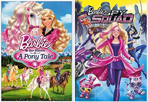 Sister Friends Barbie Pony Tale + Spy