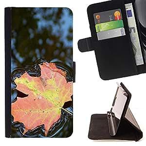 Jordan Colourful Shop -Maple Leaf CANADA -- Leather Case Absorci¨®n cubierta de la caja de alto impacto FOR Sony Xperia Z3 D6653 ---