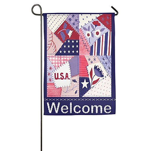 Welcome Flag Funny Pattern Garden Flag House Banner 1827inch Decorative Flag For Wedding Party Yard Home Indoor Outdoor Holiday Decor (Dallas Stars Halloween Party)