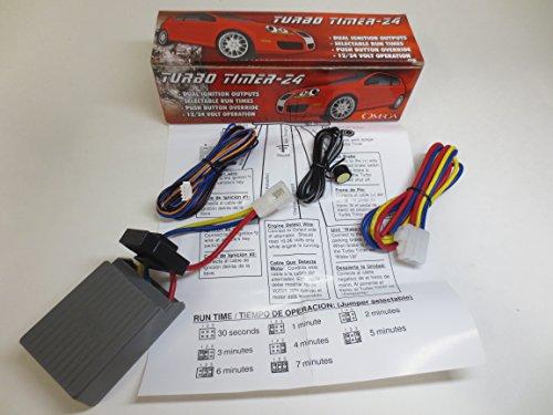 Omega TURBOTIMER24 Add-On Turbo Timer Module (Cool Timer Turbo Down)