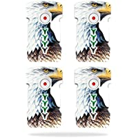 Skin For DJI Inspire 1 Drone Battery (4 pack) – Eagle Head | MightySkins Protective, Durable, and Unique Vinyl Decal wrap cover | Easy To Apply, Remove, and Change Styles | Made in the USA