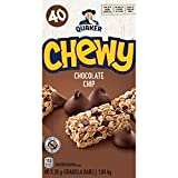 Quaker Chewy Chocolate Chip Granola Bars, 1.04kg, 40 Count