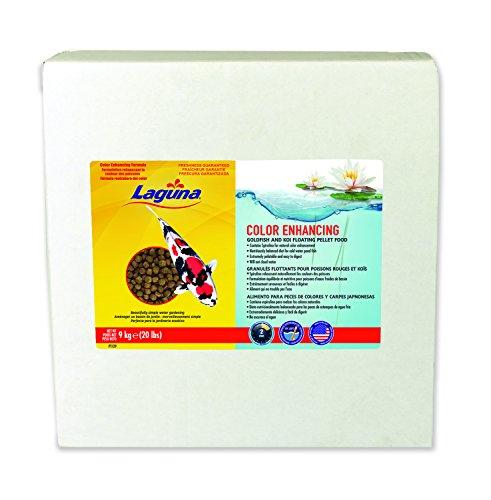 Laguna Color Enhancing Goldfish & Koi Floating Food, 20 lb by Laguna