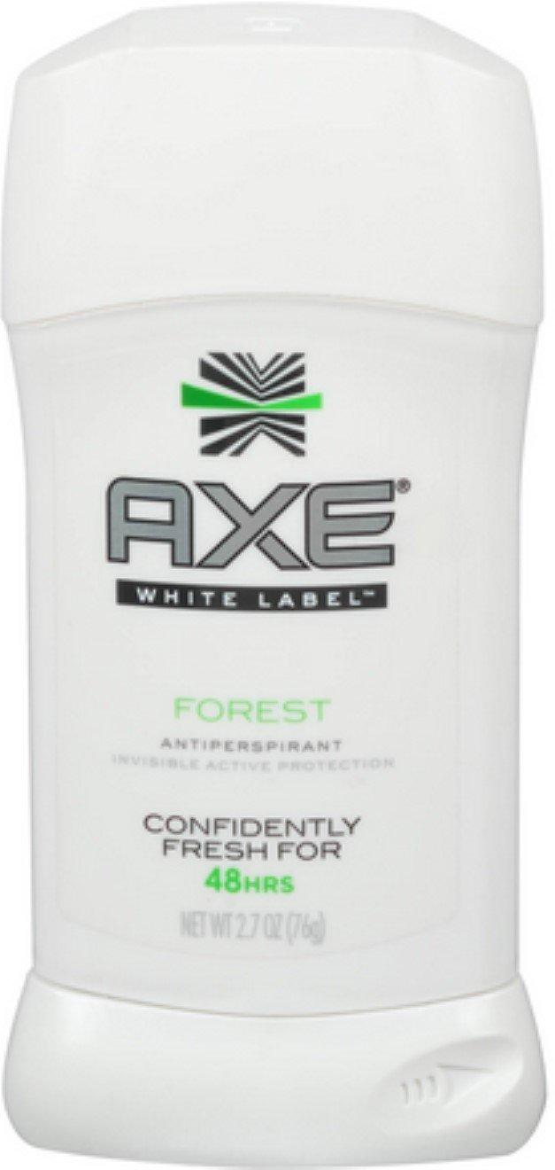 Axe White Label Antiperspirant Stick Forest, 2.7 oz (8 Pack)