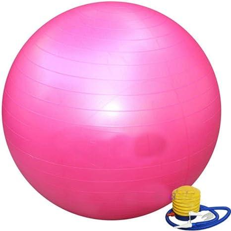 Desconocido Pelota de Ejercicio para Yoga, Color Rosa, 66 cm ...