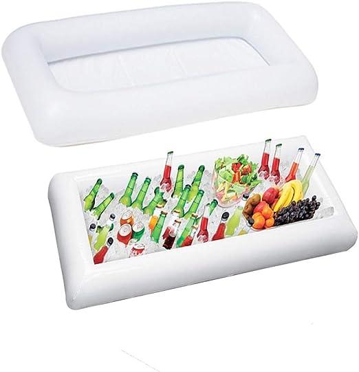 Amyhome - Barra hinchable para servir, mesa de piscina, saladero ...
