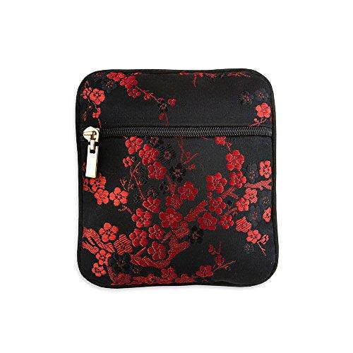 ocade (Cherry Blsm Black & Red) (Brocade Pouch)