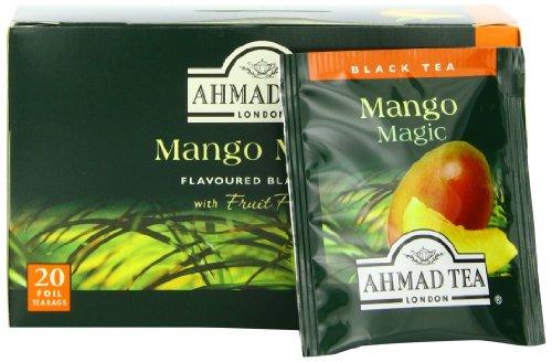 - Ahmad Tea Mango Magic Black Tea, 20-Count Boxes (Pack of 6)