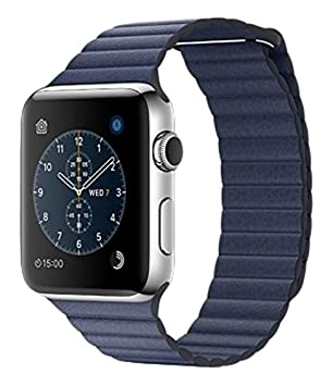 "Apple Watch 1.5"" OLED Acero inoxidable reloj inteligente - Relojes inteligentes (3,81"