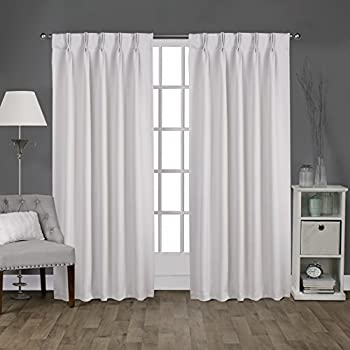 Amazon Com Fireside Pinch Pleated 48 Inch By 63 Inch