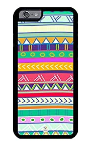 iZERCASE iPhone 6 Case Tribal Simple Colorful Pattern RUBBER CASE - Fits iPhone 6 T-Mobile, Verizon, AT&T, Sprint and International