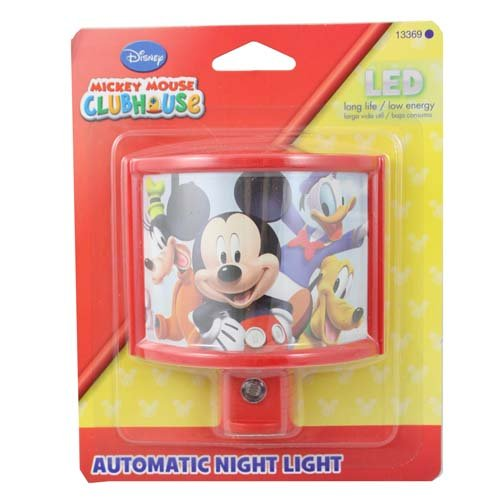 Disney Curved Mickey Mouse Clubhouse Shade Nightlight - Night Lights - Amazon.com