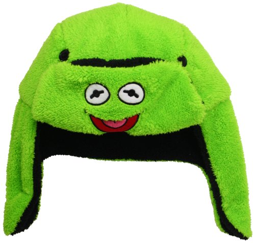 nbsp; The Bomber Peluche the Hat Frog Kermit Muppets Oneconcept PRqYq