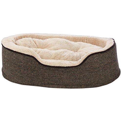 - Harmony Cuddler Orthopedic Dog Bed in Tweed, 28